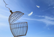 bigstock-Freedom-concept-Escaping-from-33020645